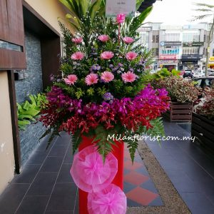 budget opening floral stand 经济开张花篮
