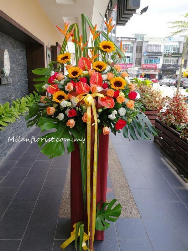 Milan Florist Opening Ceremony Floral Stand JB FLORIST JOHOR FLORIST JOHOR BAHRU FLORIST MOUNT AUSTIN FLORIST SKUDAI FLORIST NUSAJAYA FLORIST MALAYSIA FLORIST KSL FLORIST TOPPEN FLORIST PARADIGM FLORIST MIDVALLEY SOUTHKEY FLORIST CITY SQUARE FLORIST 新山花店 柔佛花店 皇后花店 马来西亚花店 开张花篮 开幕花篮 开业花篮 乔迁之喜 生意兴隆 大展宏图 鲜花 假花 Kedai bunga johor bahru