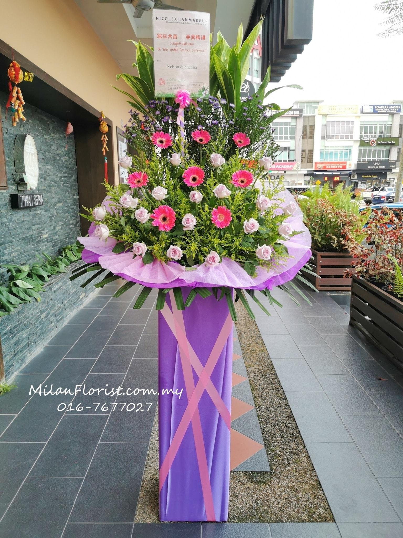 Budget flower stand