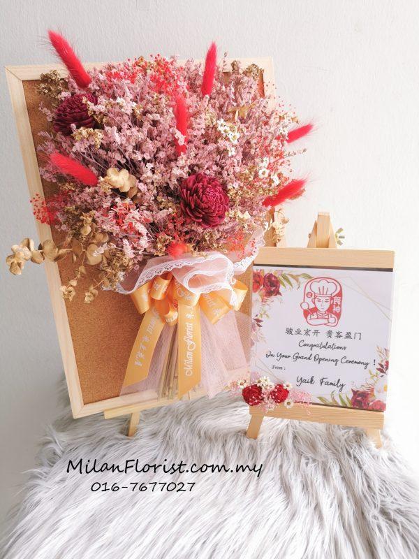 Milan Florist Dry Flower Board