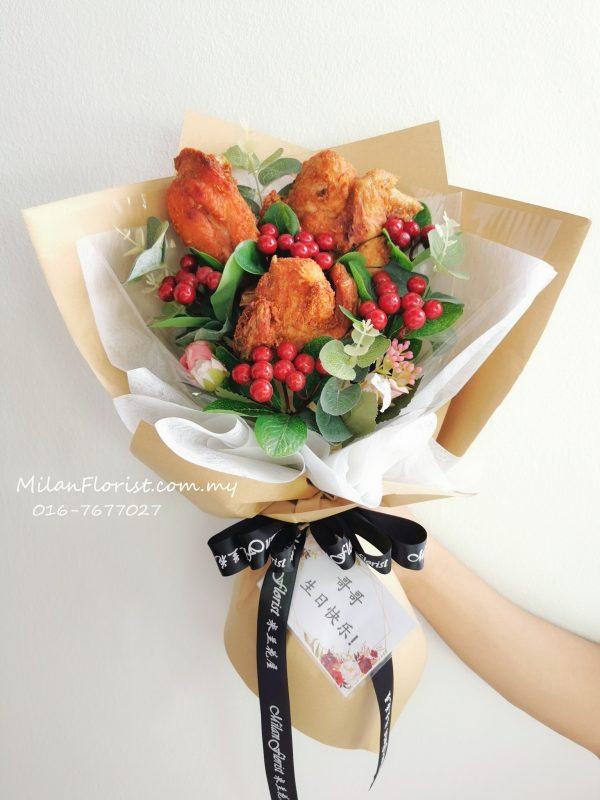 Fried chicken bouquet