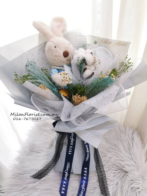 Bunny Music Bouquet