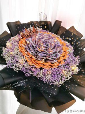 钱玫瑰 有钱花 钱花束 钞票花 520钱花 Money Bouquet 1314钱花 520钱玫瑰 1314钱花盒, 新山花店, Austin花店, JB Florist