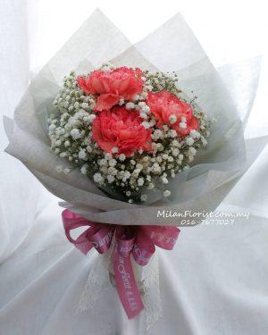MILAN-FLORIST-MOTHERS-DAY-BOUQUET-母亲节花束-康乃馨花束-Carnation-Bouquet-新山母亲节花束-母亲节花束送花-新山送花服务-母亲节送花服务-母亲节花礼, JB FLORIST,JOHOR FLORIST JOHOR BAHRU FLORIST MOUNT AUSTIN FLORIST SKUDAI FLORIST NUSAJAYA FLORIST MALAYSIA FLORIST KSL FLORIST TOPPEN FLORIST PARADIGM FLORIST MIDVALLEY SOUTHKEY FLORIST CITY SQUARE FLORIST 新山花店 柔佛花店 皇后花店 马来西亚花店 开张花篮 开幕花篮 开业花篮 乔迁之喜 生意兴隆 大展宏图 鲜花 假花 Kedai bunga johor bahru,florist,jb florist