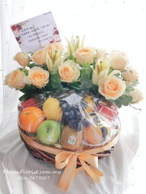 Milan Florist Fruit Basket 米兰水果花篮,水果花篮,健康花篮, Fruit Floral Basket JB FLORIST,JOHOR FLORIST JOHOR BAHRU FLORIST MOUNT AUSTIN FLORIST SKUDAI FLORIST NUSAJAYA FLORIST MALAYSIA FLORIST KSL FLORIST TOPPEN FLORIST PARADIGM FLORIST MIDVALLEY SOUTHKEY FLORIST CITY SQUARE FLORIST 新山花店 柔佛花店 皇后花店 马来西亚花店 开张花篮 开幕花篮 开业花篮 乔迁之喜 生意兴隆 大展宏图 鲜花 假花 Kedai bunga johor bahru